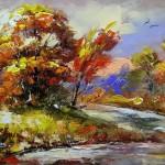 Beautiful Landscape painting by Alexander Khodyukov