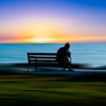 Loneliness. Photo art by Josh Adamski