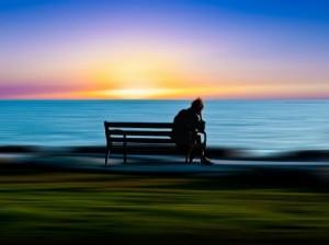 Loneliness. Photo art by Josh Adamski