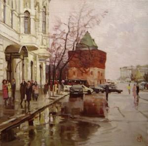 Painting by Nizhny Novgorod based artist Alex Chernigin
