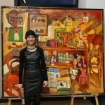 Russian artist Alexandra Ovchinnikova