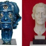 Bust of Salvador Dali by Karolin Donst and Arno Breker