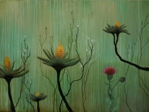 Painting by California based artist Ivy Jacobsen