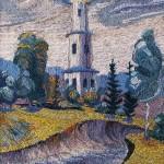 Church. Woolen Landscapes by Valentina Parenko