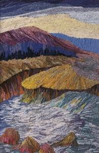 Vastness. Woolen Landscapes by Russian artist Valentina Parenko