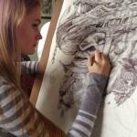 Savannah Burgess drawings