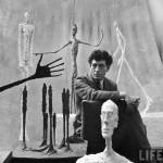 Alberto Giacometti (10 October 1901 – 11 January 1966) – Swiss sculptor, painter, draughtsman and print-maker