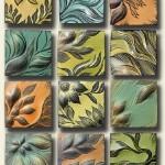 Floral motif Ceramic tiles