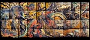 Truly work of art, Ceramic tiles by Natalie Blake Studios