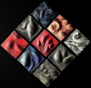Artful Ceramic tiles by Natalie Blake Studios