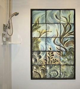 Panno in the bathroom