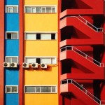 Blue, yellow and red. Yener Torun