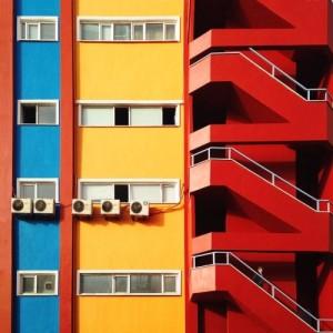Blue, yellow and red. Yener Torun