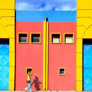 Bright Colors of Istanbul. Photographer Yener Torun
