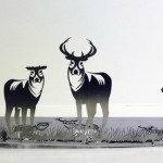 Cut from Knives by Chinese artist Li Hongbo