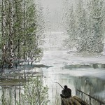Painting by Oleg Burdastov