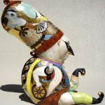 Jester. Exquisite porcelain art by Irina Zaitceva