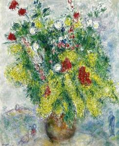 Mimosa in art