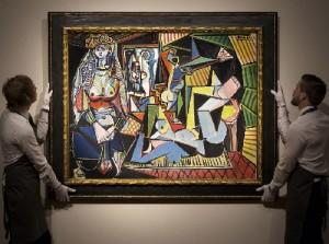 Pablo Picasso, Les femmes d'Alger, 1955, version O. Private collection