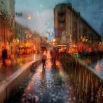 Painting rain Stanislav Sidorov