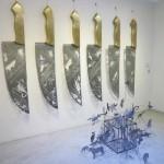 Li Hongbo Silhouettes Cut from Knives