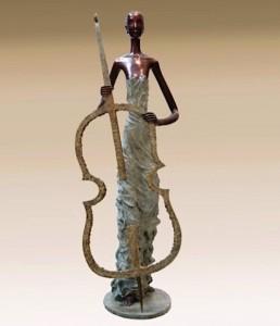 Zhang Hua bronze sculpture