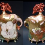 Twins teapot
