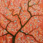 Vanmesh Riza. Acrylic on canvas. Painting by Sumit Mehndiratta, India