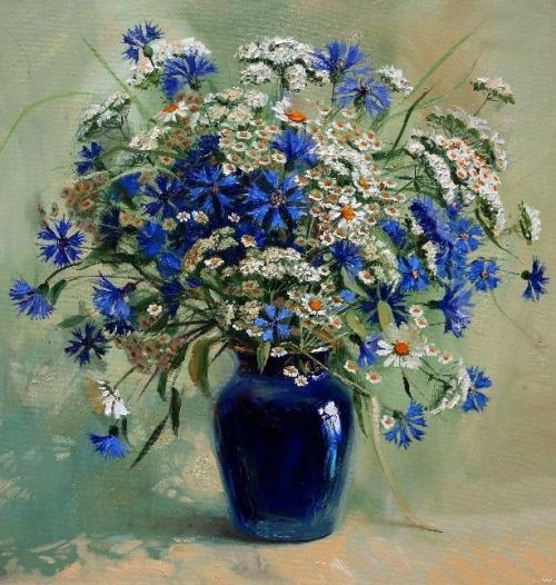 July bouquet. 2015. Oil on canvas