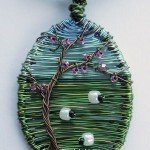Jewelry art by British designer Louise Goodchild