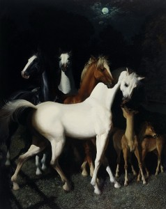 Horses. Beautiful Illustration by Gennady Spirin