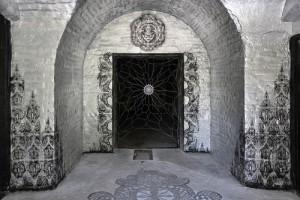 'Shrine' with Maniac Forty. Fort Galery. Warsaw, Poland 2012