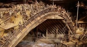 People on the bridge