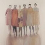 Painting by Norwegian artist Kristen Vestgard