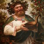 Kvasura - in Slavic mythology - God of wine