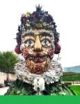 Arcimboldo sculptures by Philip Haas