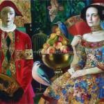 Russian artist Olga Suvorova