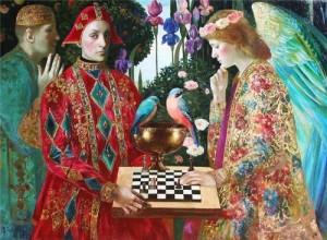 Painting by Olga Suvorova