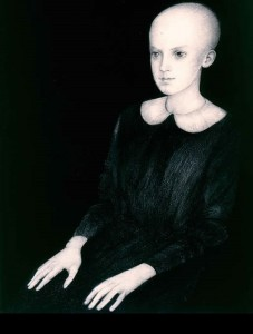 Anna's Portrait, 1989. Painting by Norma Bessouet
