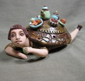 . Ceramic Sculpture by Nizhny Novgorod based artist Olga Semenovskaya