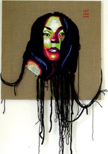 Luka. Crochet portrait by Ekaterina Penzina