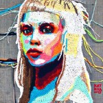 Crochet portraits by Ekaterina Penzina