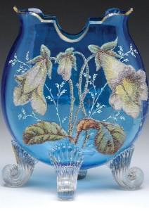 Petunia. Moser Glass Crystal