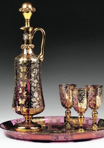 Exquisite Moser Glass Crystal
