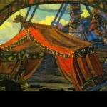 Russian painter Nicholas Roerich