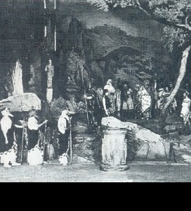 Scene from Œdipus at Colonus