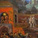 Kuzmin's Amusements for Virgins (detail) Set design by Sergei Sudelkin