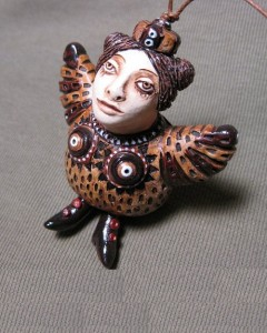 . Ceramic story by Russian artist Olga Semenovskaya