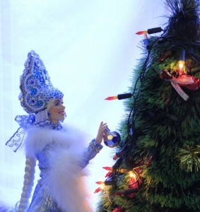 New Year's day character – Snowmaiden