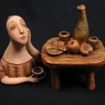 Ceramic story by Olga Semenovskaya